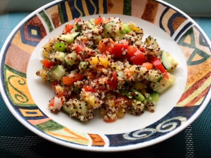 Smokey Summer Quinoa Salad