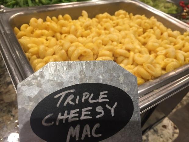 Triple Cheesy Mac Display
